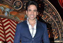 Tusshar Kapoor on 'gym mode'