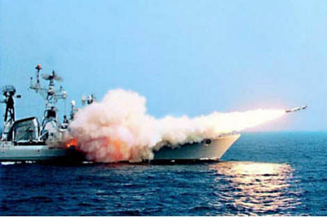 Brahmos Land Attack Supersonic Cruise Missile successfully fired