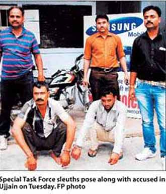Absconding accused arrested by STP sleuths