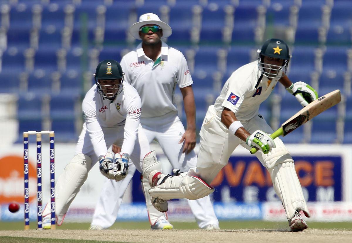 Khurram ton gives Pakistan the edge