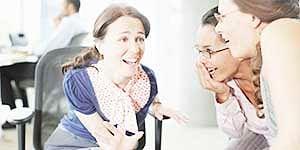 Women use gossip to shun love rivals!