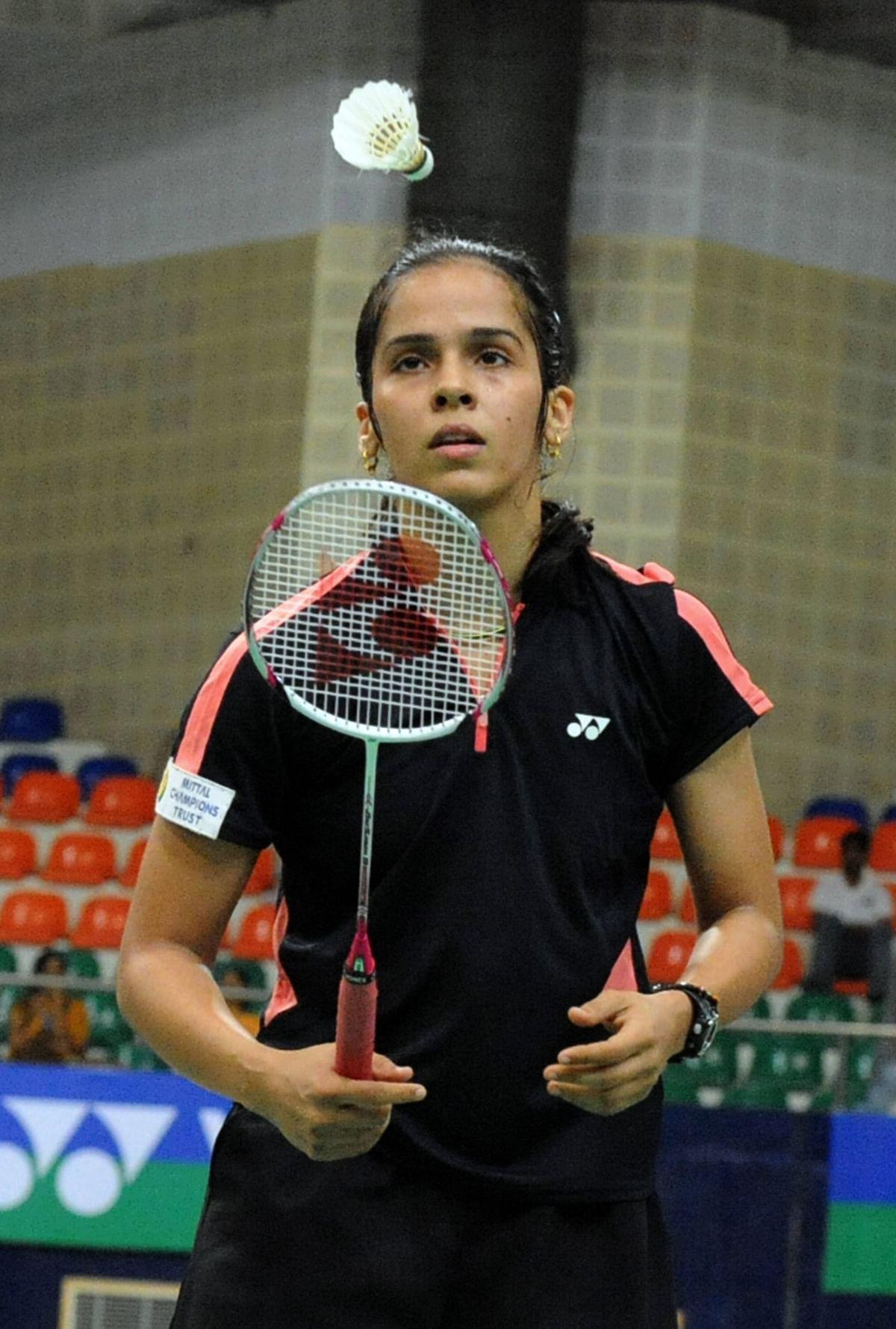 Saina eyes season's 1st title, top-5  return ahead of China Super Series
