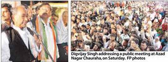 Digvijay calls BJP a communal party