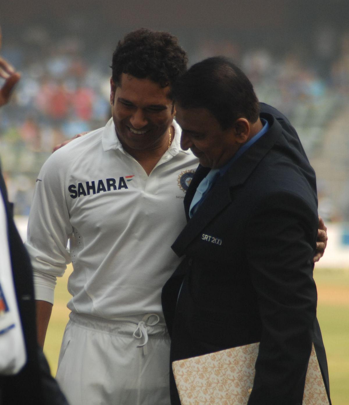 Gavaskar wants Indian  youth to emulate Sachin