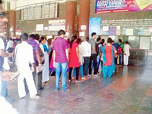 'Ladies Only' ticket counter at CST from today