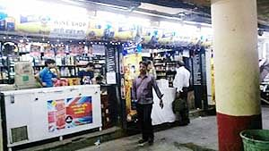 Cops ignore harassment by lager louts in subway at Churchgate