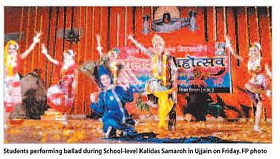 Ballad performances mark School Kalidas Mahotsava