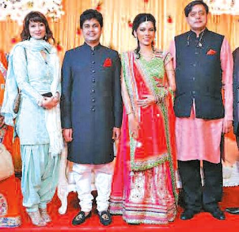 A grand wedding reception
