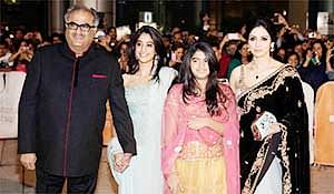 Sridevi and family's lucky escape from fire