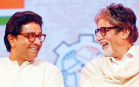Immersed in the Ganga : Raj Thackeray