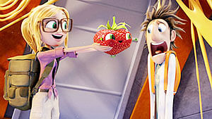 Cloudy With A Chance Of Meatballs 2 (3D) : Singularly appetising
