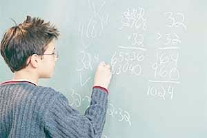Why brain often stumbles during simple calculations