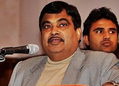 Nitin Gadkari, the new transport and shipping minister