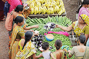 Soaring vegetable prices, pinching  common man's pocket