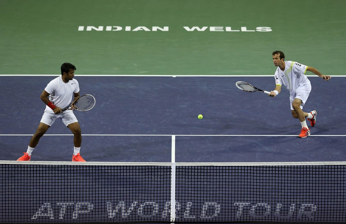 Paes-Stepanek bow  out of Indian Wells
