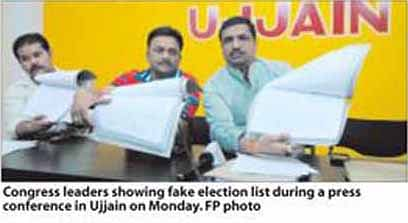 25,000 ' fake' voters in electoral list: Congress