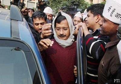 AAP blames police, media for chaos during Kejriwal's visit