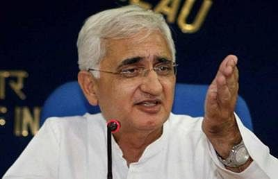 Khurshid comes under fire over alleged comments on SC, EC