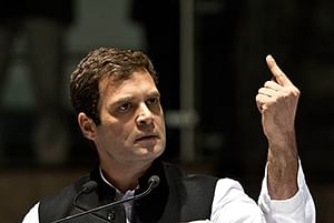 Will Rahul's combative stance help Cong?