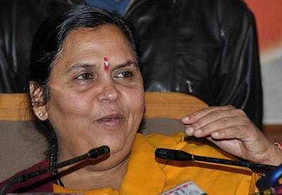 Uma Bharti gets Water Resource ministry