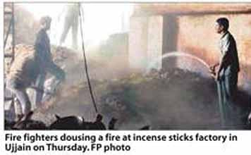 One more incense factory catches fire
