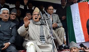 BJP tells Farooq Abdullah to go & settle in China