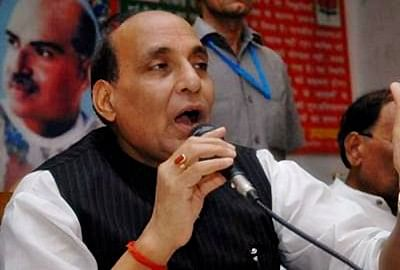 SP, BSP and Congress are one and same: Rajnath