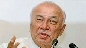 Congress leader Sushilkumar Shinde