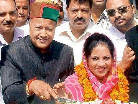 Pratibha Singh files nomination from Mandi seat