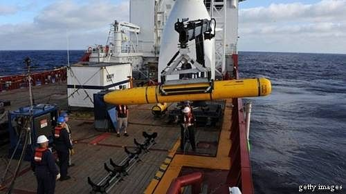 Missing plane:Robotic submarine completes third search
