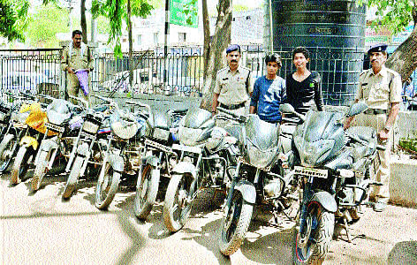 Vehicle lifters' gang caught; 12 bikes seized