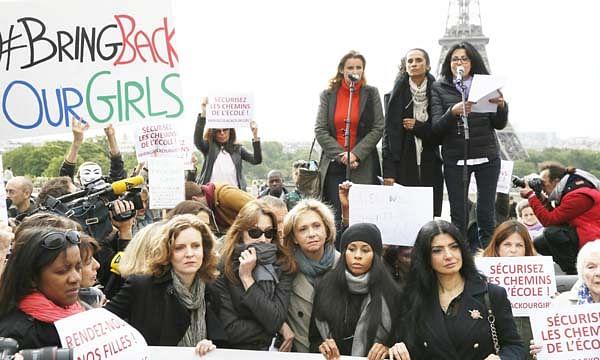 US drones hunt for Nigerian girls