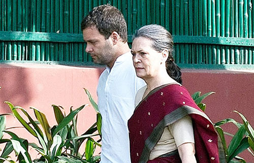 Headless Party Excuse to Sonia, Rahul rescue