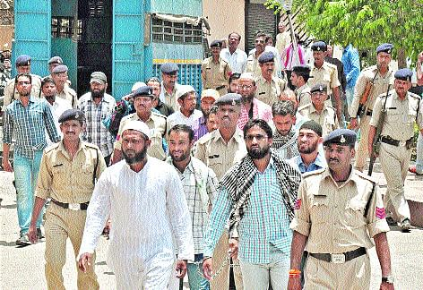 16 SIMI activists produced in court
