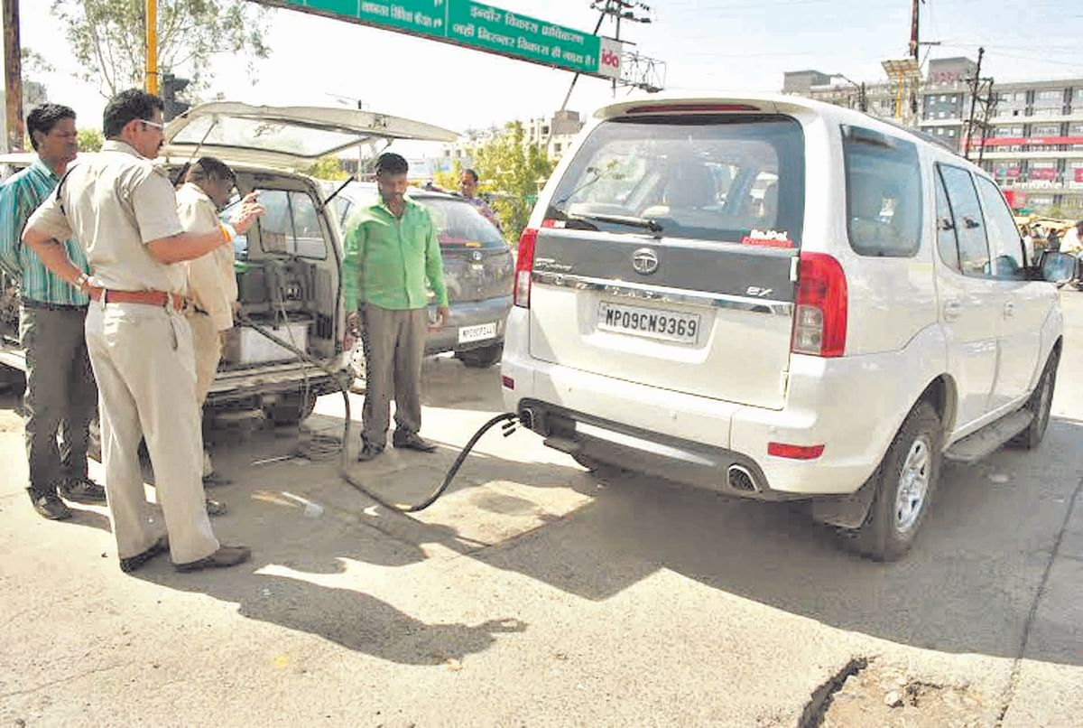180 vehicles checked on Day-1