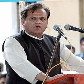 Ahmed Patel sets terms for staying 'Neutral'