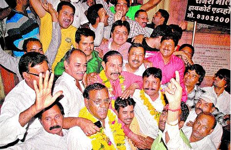 Surendra Verma elected  president for 10th time