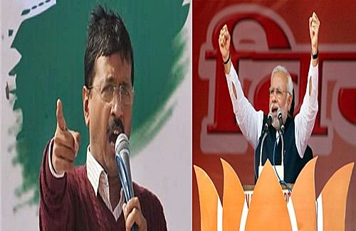 Kejriwal attacks Modi during Varanasi roadshow