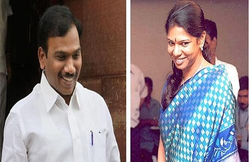 2G case: Raja, Kanimozhi move bail application