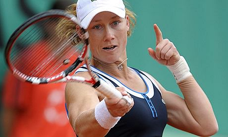 `Stitched-up` Sam Stosur sails into second round of French Open despite gym injury