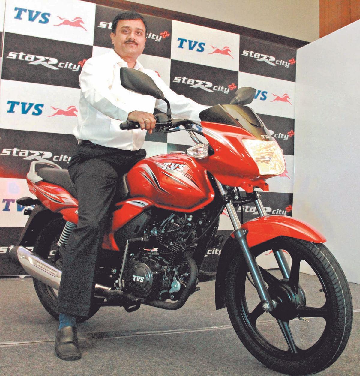 TVS Motor Company Q3 net rises 15 pc to Rs 178 crore