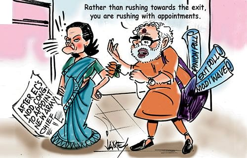 Writing on the wall, UPA wastes no time