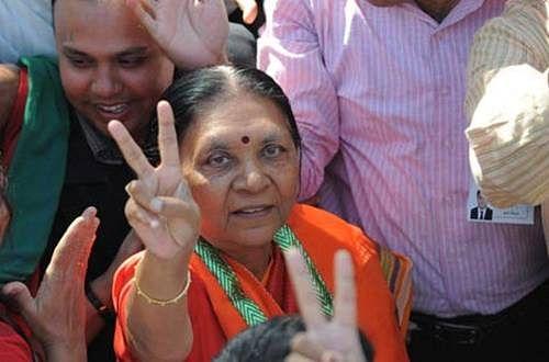 BJP accepts Gujarat CM Anandiben Patel's resignation
