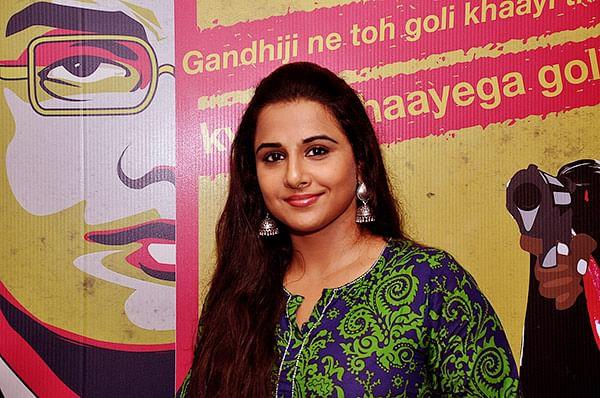 Vidya supports Manjunath