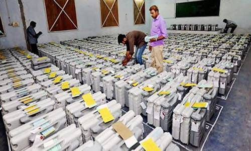 India all set to count 550 million votes