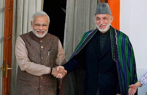 Herat attack,reconstruction efforts figure in Modi-Karzai meet