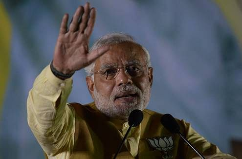 Exit poll results spark talks of finding Modi's successor