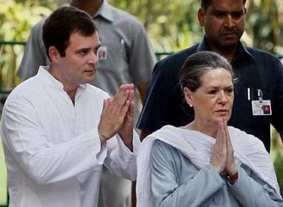 Sonia, Rahul offer to resign, but party rejects it