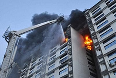 Fire breaks out in residential building in Mumbai