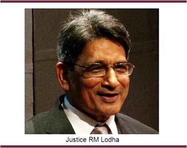 Lodha frowns at suggestion to recuse himself
